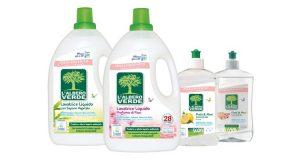 l'albero verde detergenti ecologici