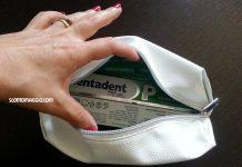 Pochette Mentadent Bag
