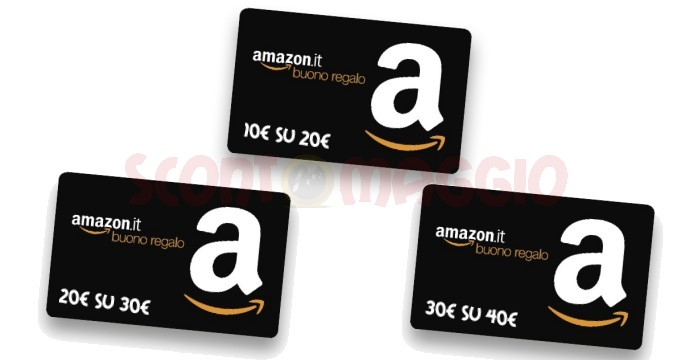 Buoni acquisti amazon for Regalare buono amazon