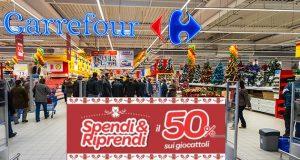 Carrefour Spendi e riprendi Giocattoli