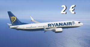 Ryanair 2 euro