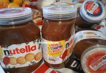 barattoli Nutella stampini
