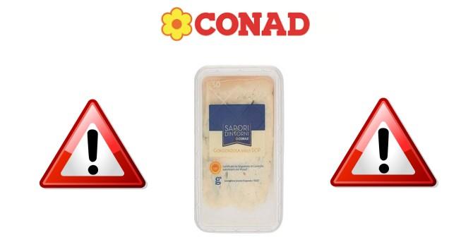 Conad ritira il Gorgonzola DOP di Si Invernizzi - scontOmaggio