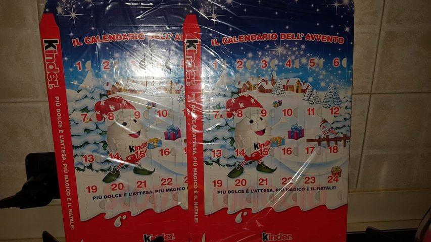 Calendari dell'Avvento Kinder gratis (senza obbligo d ...