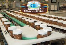 Nutella fabbrica di cioccolato