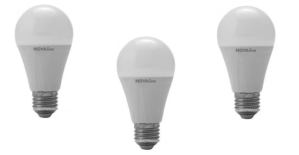 Vinci gratis set 10 lampadine led nova line scontomaggio for Acquisto lampadine led