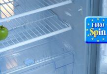 frigo vuoto eurospin