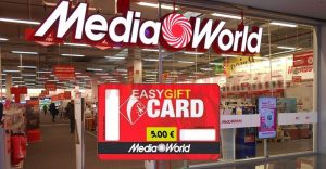 mediaworld easy gift card