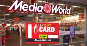 mediaworld easy gift card