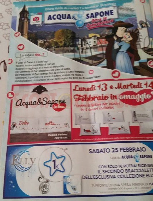 Anteprima volantino Acqua & Sapone e La Saponeria: 7-26 febbraio ...