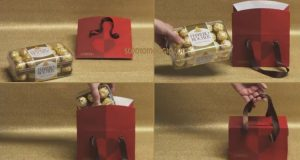 ferrero rocher bag