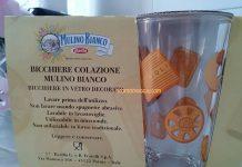 bicchiere colazione Mulino Bianco