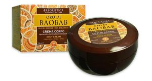 crema corpo oro baobab