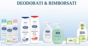 deodorati rimborsati