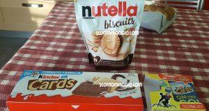 nutella biscuits kinder cards