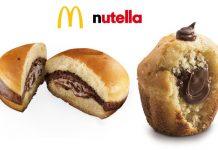 sweety nutella muffin