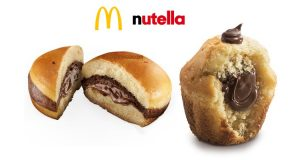 sweety nutella muffin