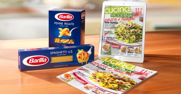 Barilla ti regala l 39 abbonamento a cucina moderna conad for Abbonamento a cucina moderna