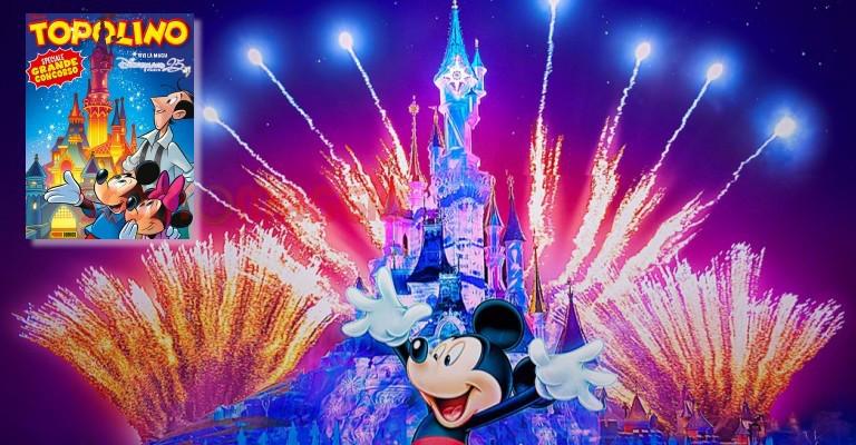 Con Topolino vinci viaggi a Disneyland Paris - scontOmaggio