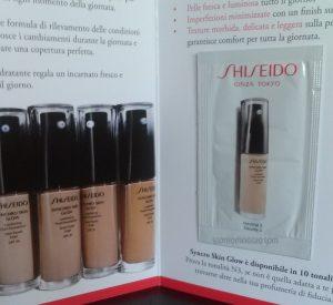 shiseido campione omaggio