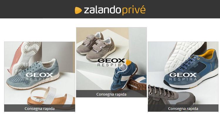 Geox nuove collezioni: sconto 75% su Zalando Privè