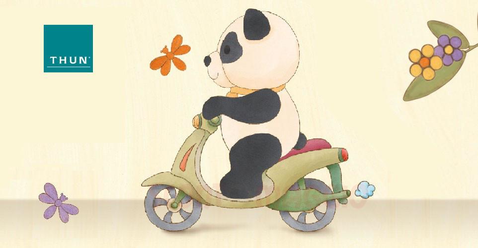 Thun panda su due ruote vinci gratis scooter honda - Panda thun 2017 ...