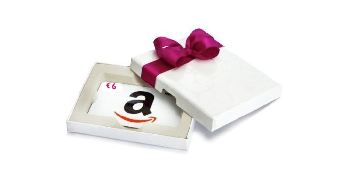 Ricevi un buono amazon da 6 con le carte regalo for Regalare buono amazon