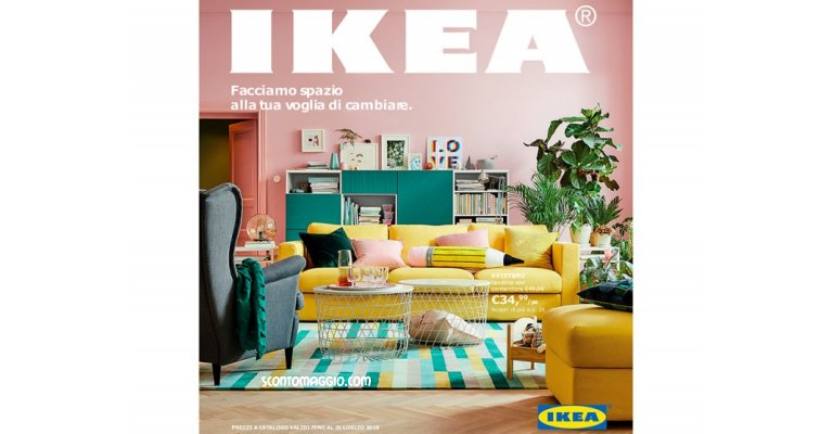 sfoglia gratis il nuovo catalogo ikea 2018 scontomaggio. Black Bedroom Furniture Sets. Home Design Ideas