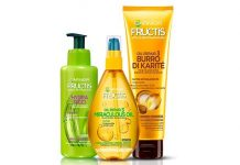 Garnier beauty routine