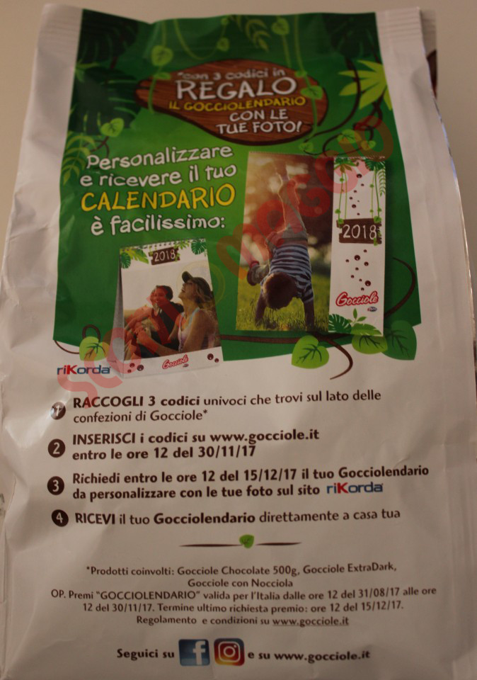 Calendario Rikorda.Richiedi Il Gocciolendario Di Gocciole Pavesi Premio Sicuro