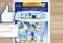 nivea blu friday mipiace