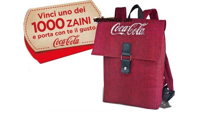 più recente a4df0 489a6 Con Coca-Cola vinci 1.000 zaini - scontOmaggio