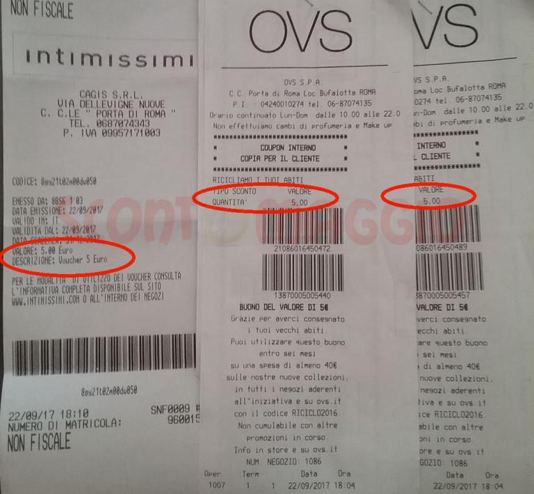 buy online bb2cb 6c130 Buoni sconto OVS, Intimissimi, H&M riciclando abiti usati ...