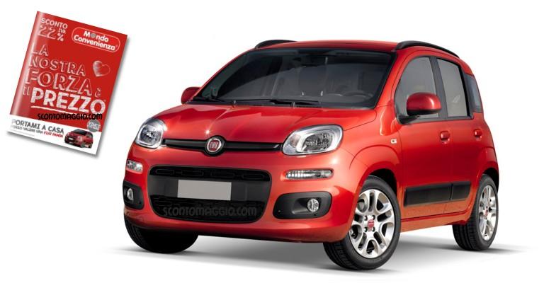 Mondo Convenienza: vinci GRATIS 25 Fiat Panda - scontOmaggio