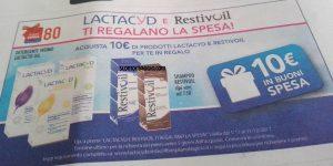 lactacyd restivoil ti regalano la spesa