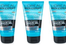 l'oreal men expert shave gel