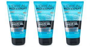 l'oreal men expert shave gel