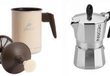 pedrini cappuccino maker moka