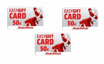 easygift card mediaworld