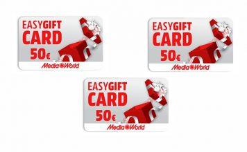 easygift card mediaworld