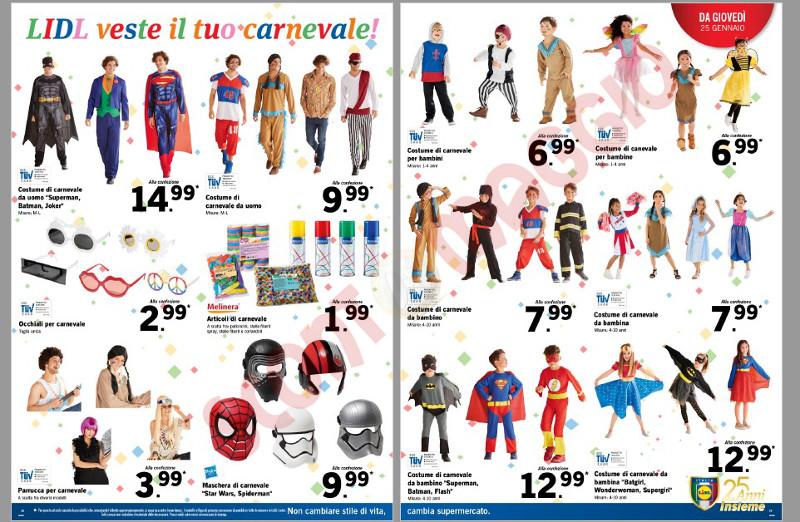 Costumi Halloween 2019 Lidl.2 Modi Per Risparmiare Sui Vestiti Di Carnevale Scontomaggio