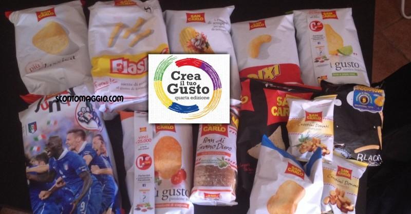 Crea il tuo gusto 4 vinci gratis 450 forniture san carlo for San carlo crea il tuo gusto