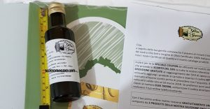 bottiglia olio porta dei sapori