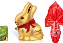 gold bunny lindt uovo lindor
