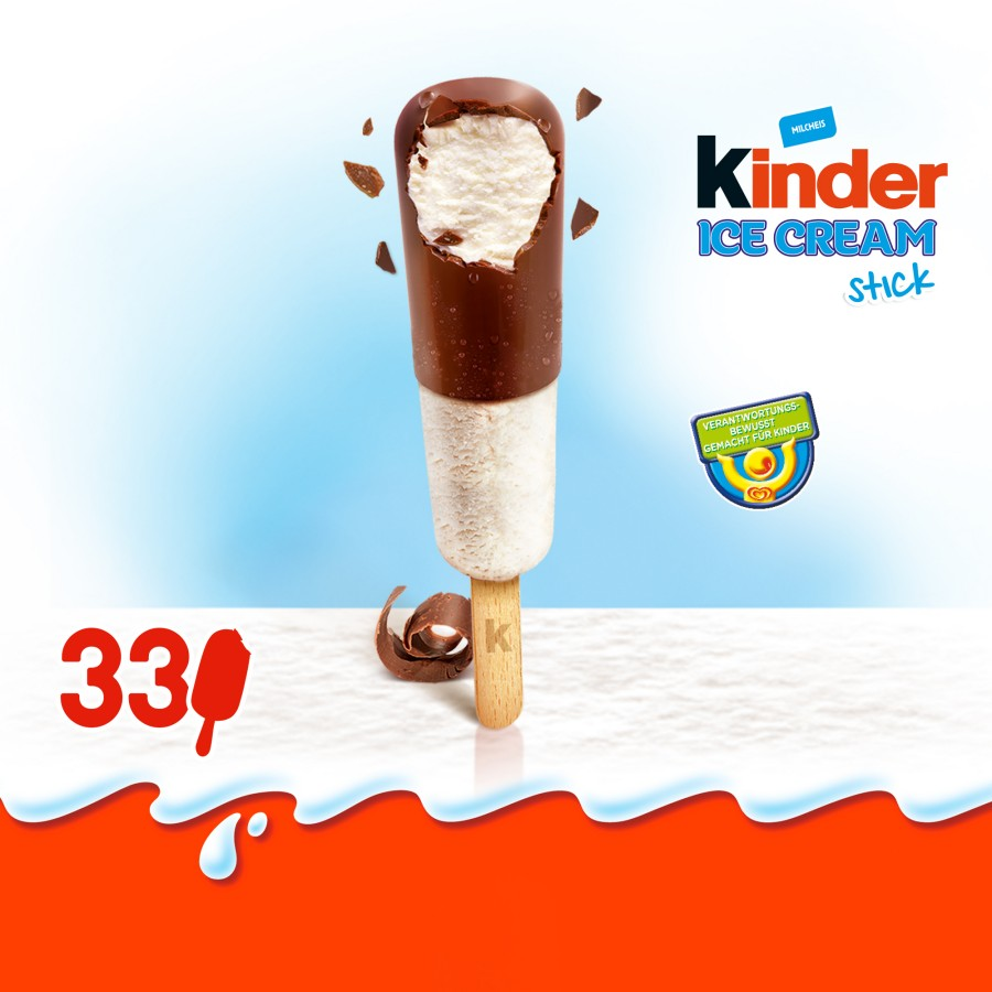Kinder Ice Cream Stick
