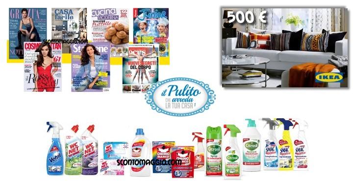 Il pulito che arreda la tua casa abbonamento riviste e for Arreda la tua camera