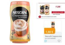 nescafe cappuccino zuccherare