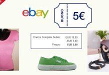 ebay buono 5 euro