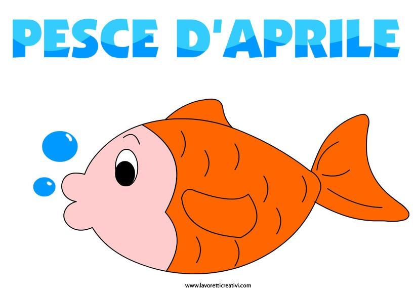 Buona pasqua e buon pesce d 39 aprile scontomaggio for Disegni da colorare pesce d aprile