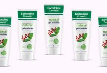 somatoline natural gel snellente